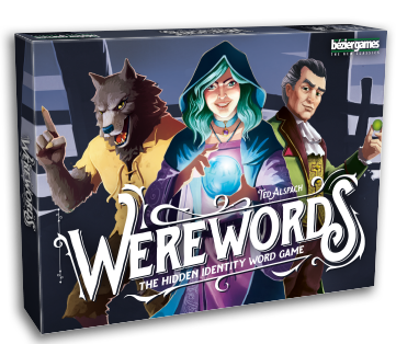 Werewords™, by Ted Alspach - From Bézier Games